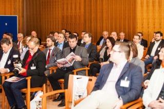 Gäste im Konferenzsaal beim HGV-Symposium 2015