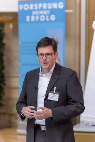 Vortragender Klaus Schaffer (EDITEL)