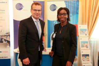 GS1 Austria Geschäftsführer mit GS1 Austria Business Development Managerin