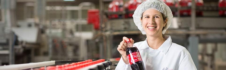 Produktionswerk bei Coca-Cola - Die DESADV geht neue Wege und bringt den Lieferschein im PDF-Format