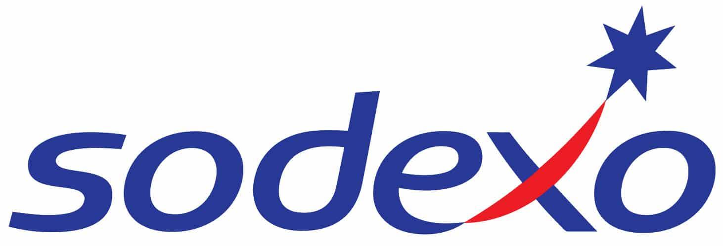 Das Logo des Unternehmens Sodexo