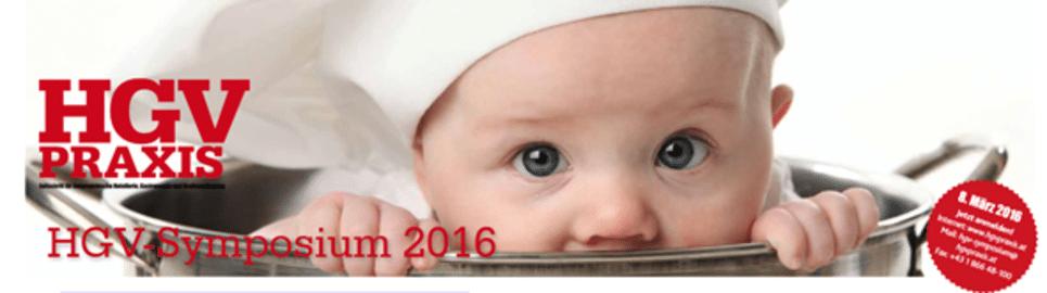 HGV-Symposium 2016 Babykoch im Topf