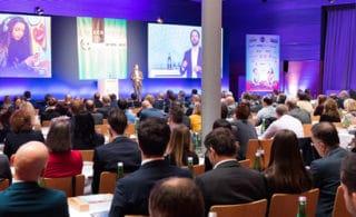 ECR Austria Infotag 2015 Kongresssaal und Bühnenpräsentation