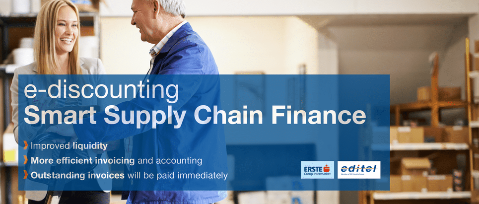 Electronic invoicing with integrated Supply Chain Finance