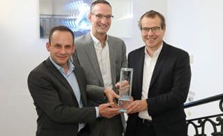 Gerd Marlovits (EDITEL Austria), Alexander Schaefer (EDITEL Austria) & Gregor Herzog (GS1 Austria)