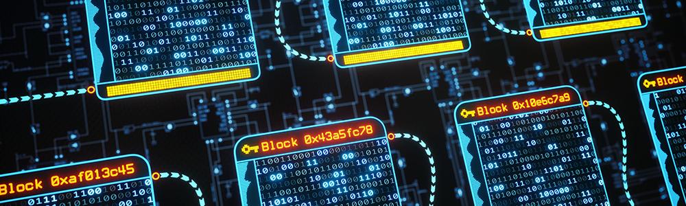 Blockchain in der Logistik - Speicherung der Daten via Binärcode