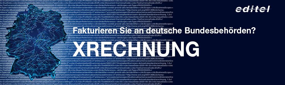 xml Datensätze und Deutschlandkarte für e-Rechnungen an deutsche Bundesbehörden