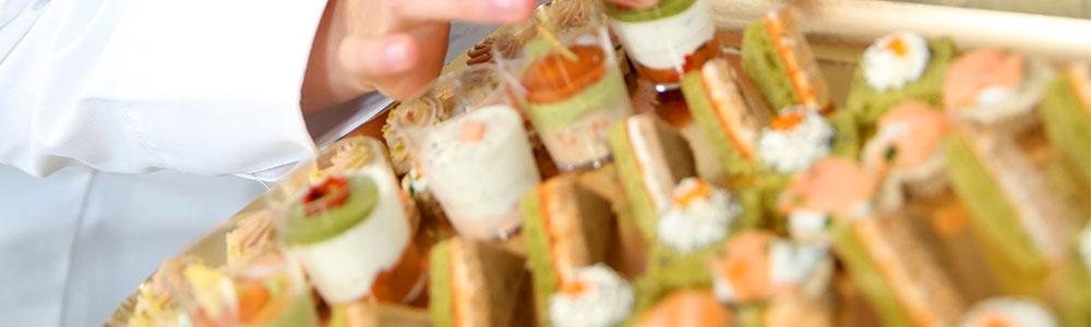 Fingerfood soll die nahtlose Integration der Daten bei Go Gastro & Catering symbolisieren